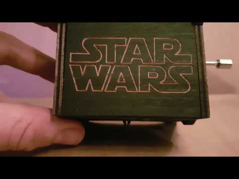 Star wars music box wind up music #Enjoythewood