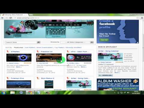 How To Download And Change Winamp Skin