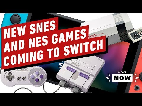 New SNES, NES Games Coming Switch - IGN Now
