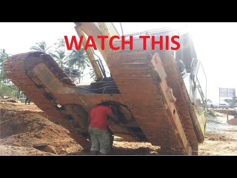 Heavy Equipment Disasters Crash: Excavator FAIL/WIN 2017 Construction Accidents Caught On Tape