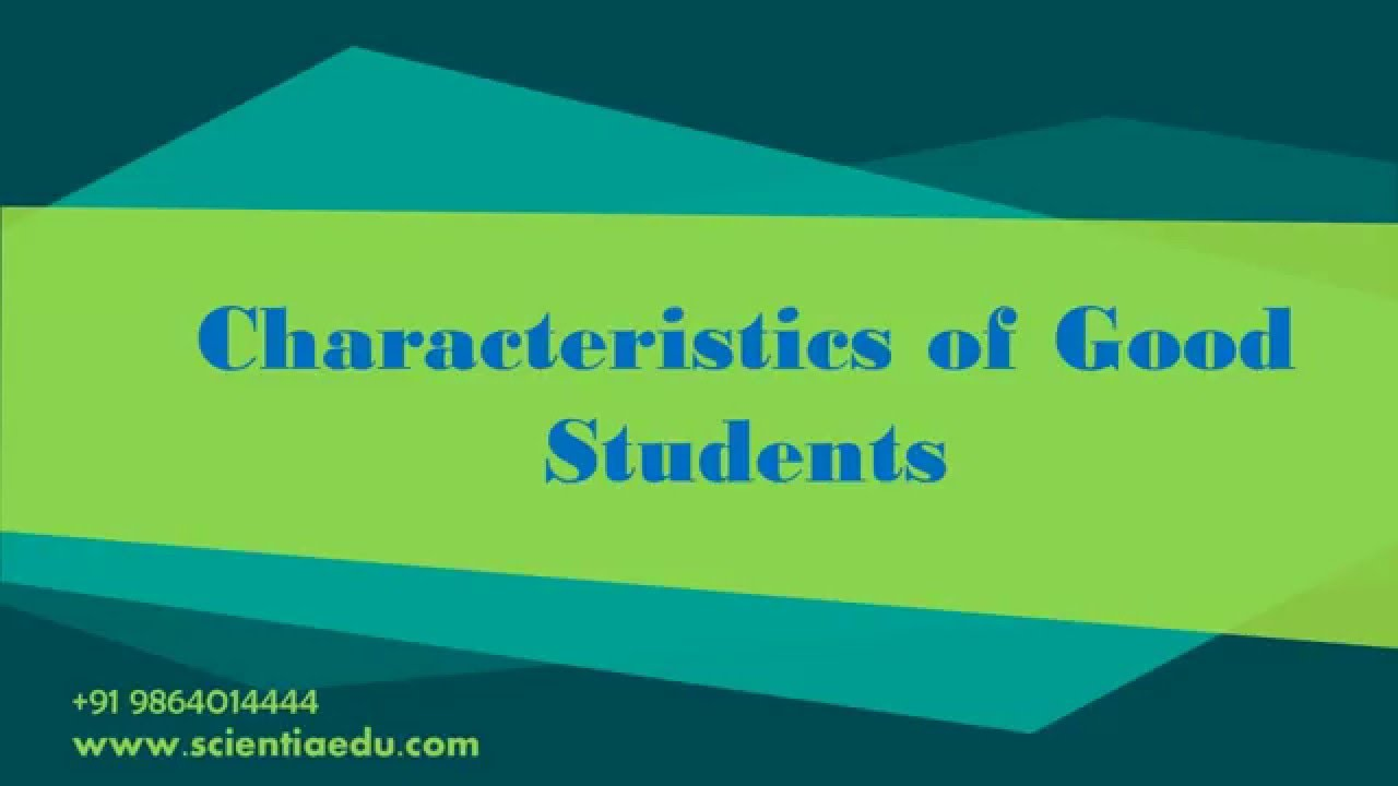 characteristics of successful college students