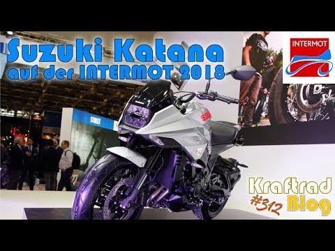 Suzuki GSX-S Katana  auf der Intermot