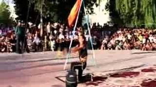 Косонсойлик полвон Бахтиёрхужа. Силач из Касансая Бахтиёрхужа.Strongman of Kasansay Bahtierhuzha