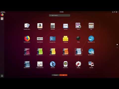 How To Install OpenOffice On Ubuntu 18.04