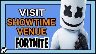 Fortnite | Visit the Showtime Venue Location | Showtime Challenges Fortnite Battle Royale