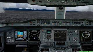 FS2004 - Landing at Los Angeles International Airport - California - USA with Lufthansa A380.mp4