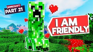 Why This Creeper does not explode in Minecraft
