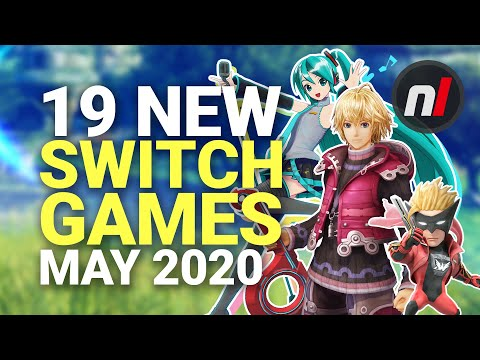 19 Exciting New Games Coming To Nintendo Switch - May 2020
