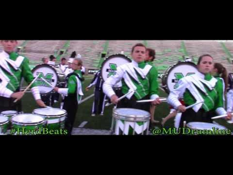 Street Beat | Marshall University 2015 Drumline