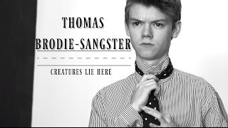 thomas brodie-sangster -- creatures lie here