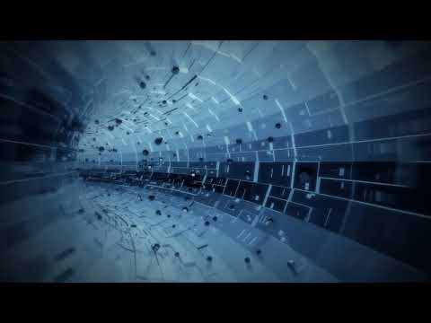 00700 FREE HD video backgrounds – abstract blue hi tech digital technology business background with