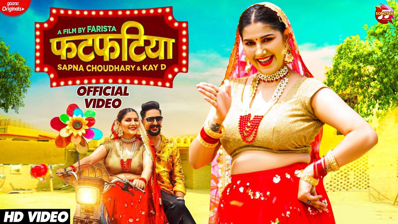 SAPNA CHOUDHARY : Fatfatiya   Manisha Sharma, Kay D   New Haryanvi Songs Haryanavi 2021   Sonotek - YouTube