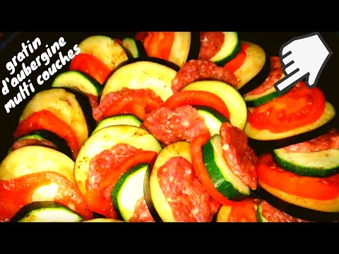 gratin-d'aubergine-multi-couche-à-la-turque