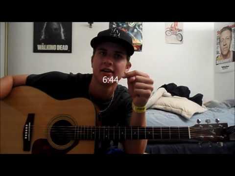 BEGINNER 10000 reasons guitar tutorial intro, chords, strum ...
