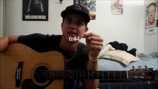 BEGINNER 10000 reasons guitar tutorial intro, chords, strum patterns...
