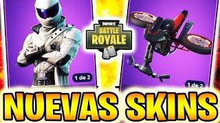 Video de VICTORIA! **NUEVAS SKINS** ÉPICAS *MOTORISTAS* - FORTNITE Battle Royale