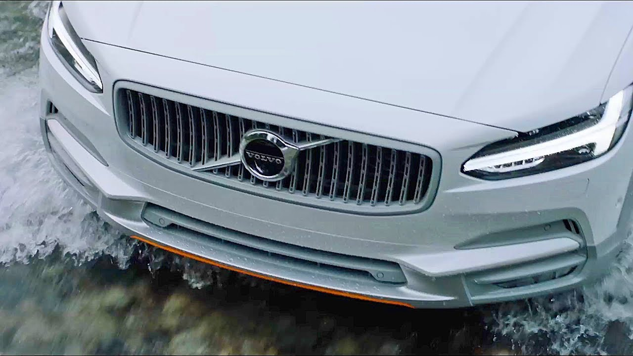 Volvo V90 Cross Country VOR (2018) Features, Design, Driving - YouTube