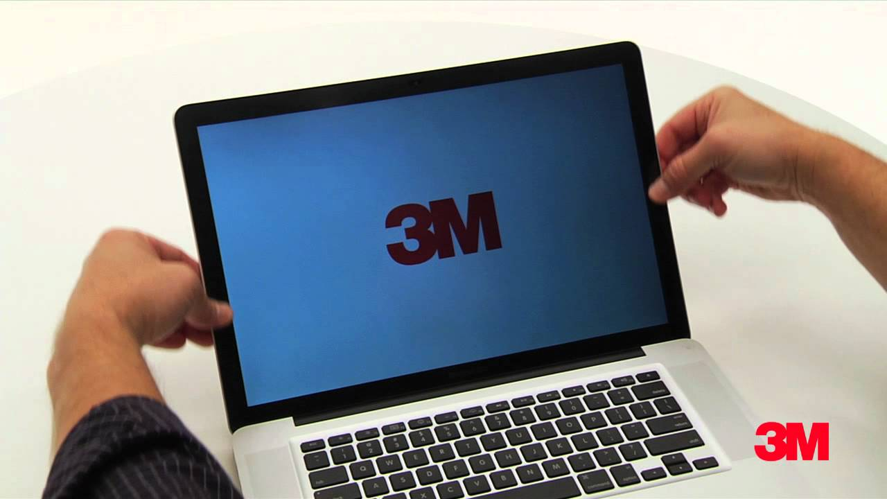 How To Apply A 3m Privacy Filter To Your Mac Device Youtube