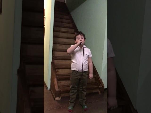 Маленький трубач Усаченко Савелий
