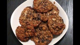Triple Chocolate  Pecan Macadamia Oatmeal Cookie