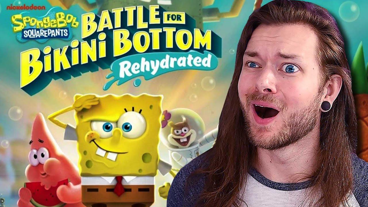 SPONGEBOB RE-HYDRATED on Nintendo Switch! | Beatemups Streams
