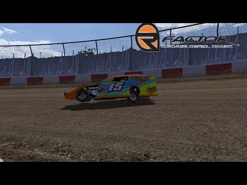 rFactor - Dirt Modifieds 2 - Thunderbowl Raceway