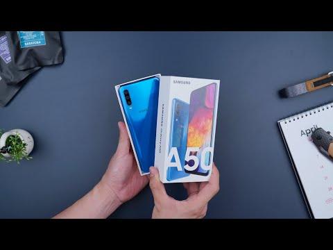 Rp4.099 Juta! Unboxing Samsung Galaxy A50!