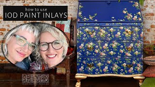 How to Use IΟD Paint Inlays   Iron Orchid Designs Product Basics   Painted Furniture