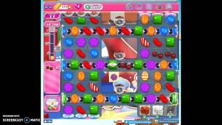 Candy Crush Level 1377 help w/audio tips, hints, tricks