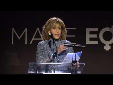 Honoree Jane Fonda, 2016 Make Equality Reality gala