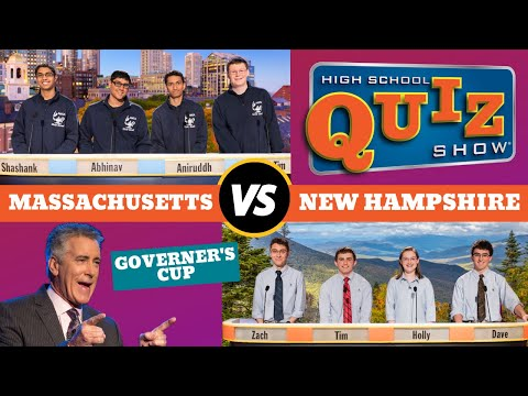 High School Quiz Show Governors Cup: Massachusetts vs. New Hampshire (616)
