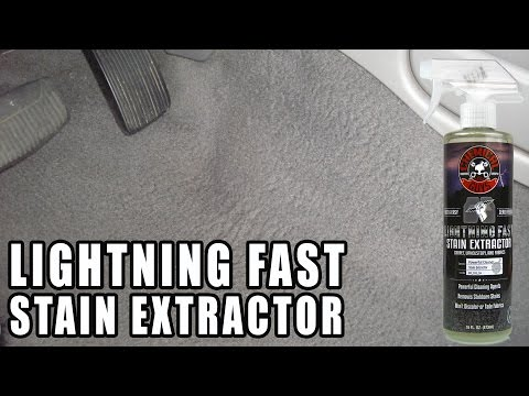 How To Remove Deep Stains - Chemical Guys - Lightning Fast Carpet Stain Extractor