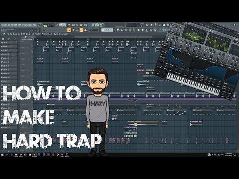 How To Make HARD TRAP | FL Studio Tutorial + FLP |
