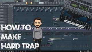 Скачать How To Make HARD TRAP FL Studio Tutorial FLP