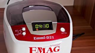 Produktvideo zu Ultraschall-Reinigungsgerät Emmi-D21 EMAG