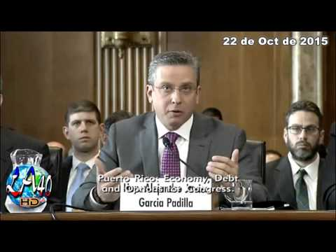 AGP en Ingles Hearing on Puerto Rico Economy, Debt (Oct 22, 2015)