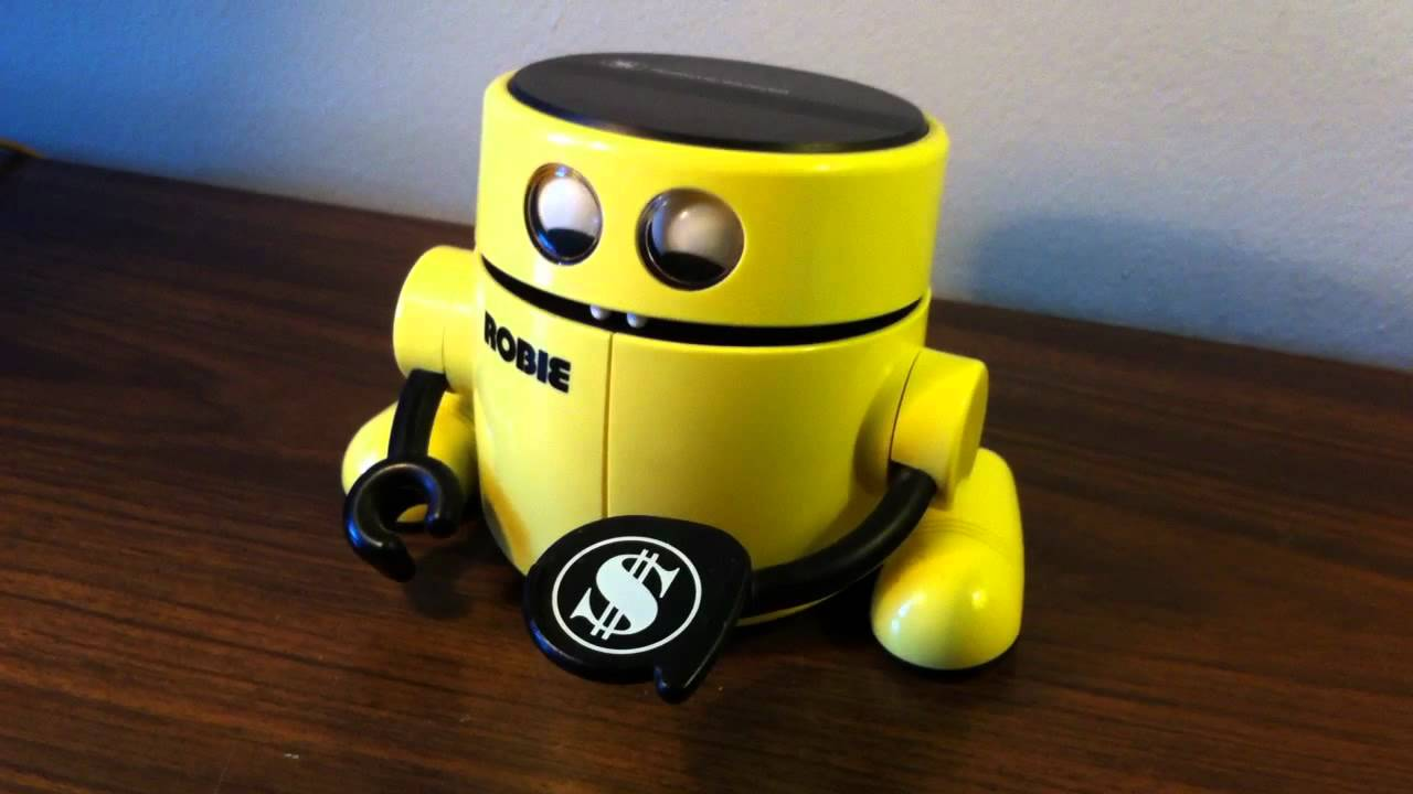 Another Robie The Robot Money Eating Bank Youtube