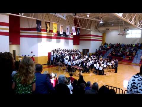 Stallings Island Middle School Veterans Day