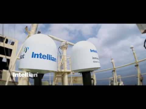 Intellian GX terminal testing at sea