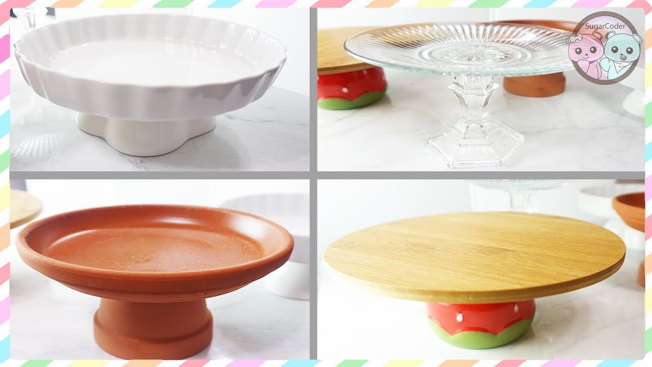 Ideas For Homemade Cake Stands