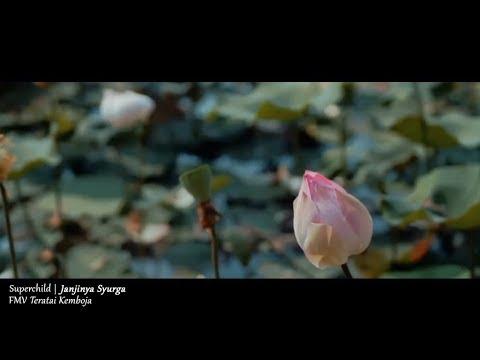 (OST TERATAI KEMBOJA) Superchild - Janjinya Syurga (Lyric Video)