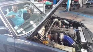 BMW e28 moteur 2jz 500hp 580nm
