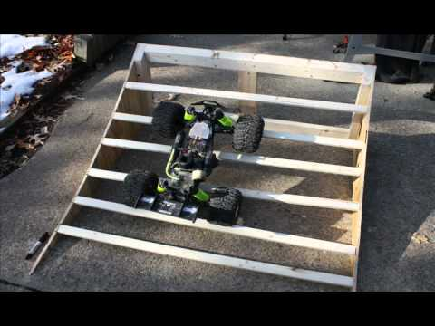 How To Build / DIY RC Ramp & Skateboard Ramp - YouTube