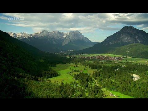 Les Alpes a vol d'oiseau