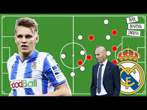 How Martin Odegaard could fit into Zinedine Zidane's Real Madrid   Scout Report   Player Analysis