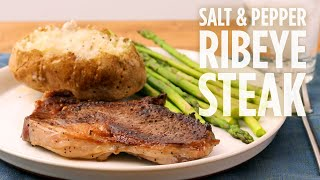 How to Make Salt & Pepper Ribeye Steak | Dinner Recipes | Allrecipes.com