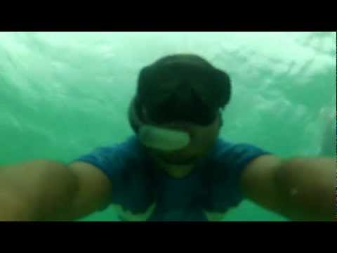 Volando en el mar,deep board en  bocas del toro
