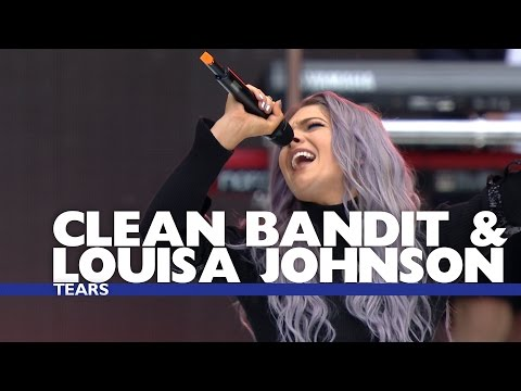 Thumbnail: Clean Bandit and Louisa Johnson - 'Tears' (Live At The Summertime Ball 2016)