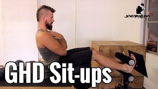 GHD (Glute-Ham Developer) Sit-ups | Ohne Rückenverletzung!