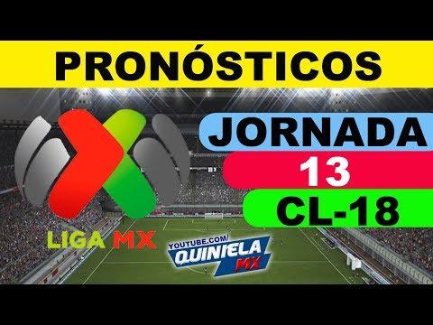 Pronósticos Jornada 13 Liga MX Clausura 2018 Predicciones ⚽  Quiniela MX